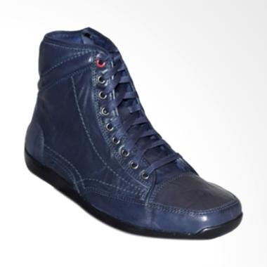 Gino Mariani Elario 2 Exclusive Cow ...  Sepatu Boots Pria - Navy