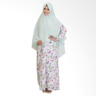 SYAHEERA Khadijah Dress Muslim Syar'i Wanita - Green
