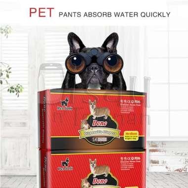 harga Pampers / Popok Anjing Betina Disposable Diapers Female Dono M Blibli.com