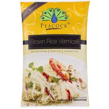 harga Peacock Brown Rice Vermicelli   Makanan Sehat Import Blibli.com