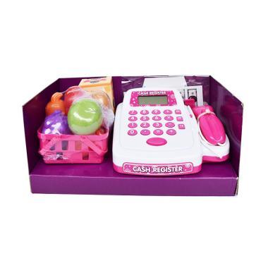 Bowa 8319A Snetoys Cash Register Set Mainan Anak - Pink