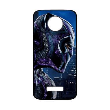harga Bunnycase Black Panther Marvel 2 L0595 Custom Hardcase Casing for Motorola Moto Z Force Blibli.com