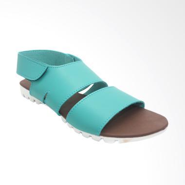 Dr Kevin 56002 Women Sandal Flats - Green