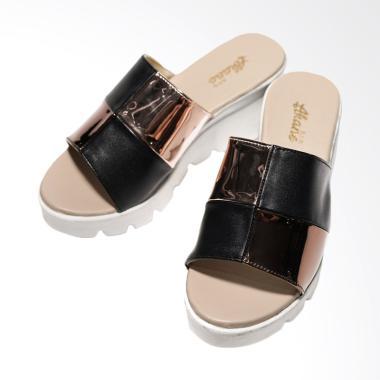 Akane AK-EN003 Sandal Wedges - Bronze