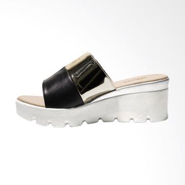 Akane AK-EN003 Sandal Wedges - Silver