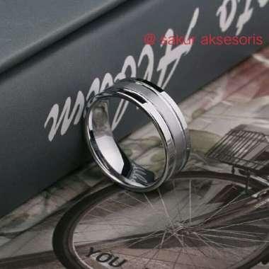harga Unik Cincin silver titanium - cincin bagus - cincin pria wanita Murah Blibli.com