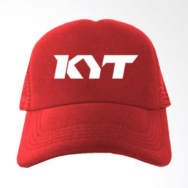 IndoClothing KYT Topi Trucker - Merah
