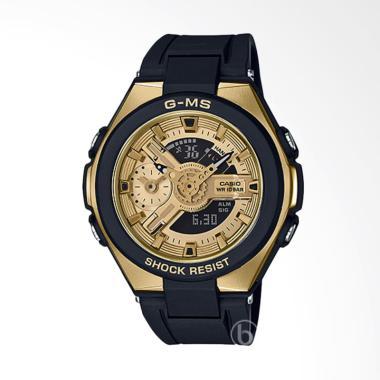 CASIO MSG-400G-1A2 Baby-G G-MS Series Jam Tangan Wanita - Black Gold