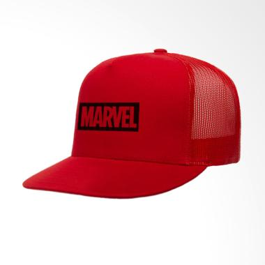 IndoClothing Marvel Topi Trucker - Merah