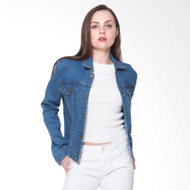 2nd RED 291803 Jeans Premium Stretch Jaket Wanita - Blue
