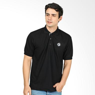 CBR Six Wangky Kaos Polo Pria - Hitam [FZC 179]