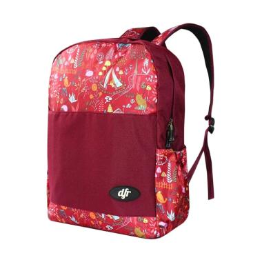 DFR Davina 006 Backpack Anak - Merah