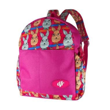 DFR Mini Davina 005 Tas Sekolah Anak - Merah
