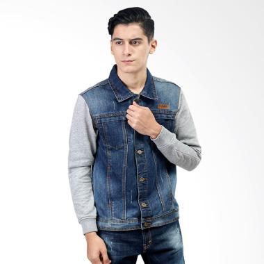 Jual Jaket Jeans Denim Pria Online - Harga Promo   Diskon  4b1e1c161e