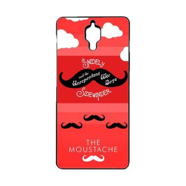 Acc Hp Moustache W3701 Custom Casing for Xiaomi Mi4
