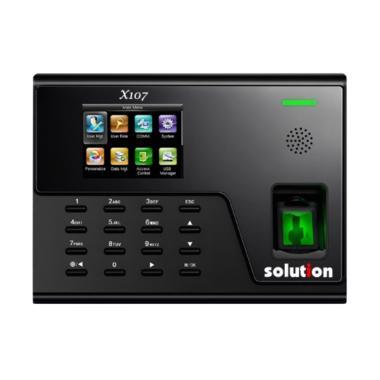 Solution X107 Fingerprint Mesin Absensi Sidik Jari & Akses Door