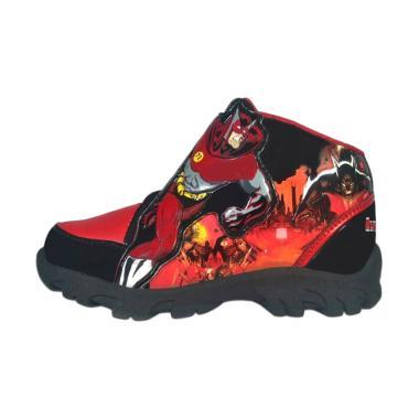 Sevenray Ultron 2 Sepatu Anak Laki-Laki - Hitam Merah