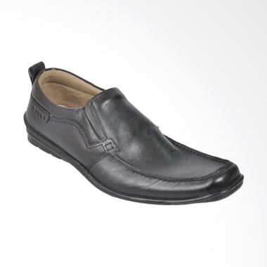 JAVA SEVEN Sepatu Formal Pria - Hitam [ABM 128]