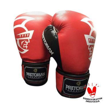 PRETORIAN Sarung Tinju dan Muaythai Boxing Gloves [12 Oz]