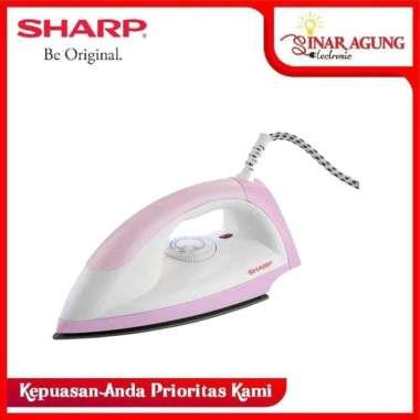 harga SHARP SETRIKA EI-N05 DRY ION ANTI LENGKET PINK  Pink Blibli.com
