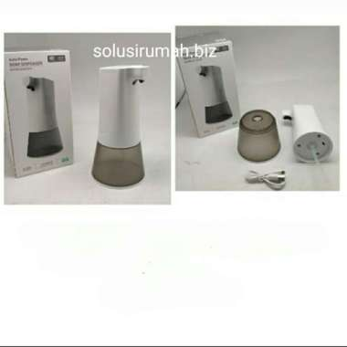 harga Dispenser sabun otomatis sensor non touch tempat soap cair dinding 401 Blibli.com