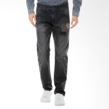 Wrangler Spencer Celana Denim Pria - Dark Grey [SMCBC02A16]