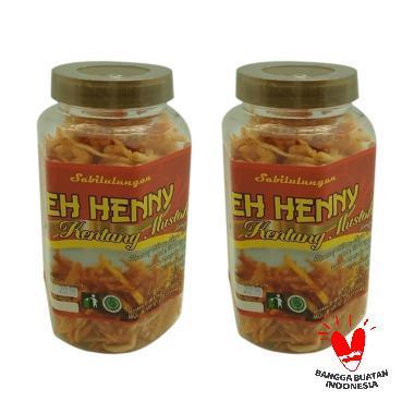 Teh Henny Kentang Mustofa Pedas Makanan Ringan [180g / 2pcs]