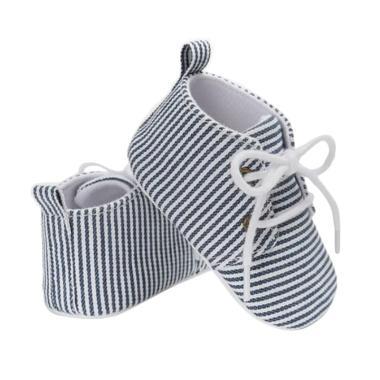 Abby Baby Stripe School Shoes Sepatu Bayi