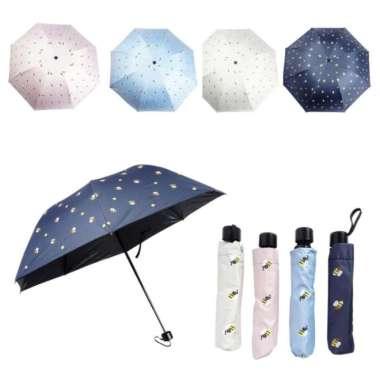 harga FREE ONGKIR Payung Lipat Totoro - Tahan Panas - Foldable Umbrella Totoro - Krem Blibli.com