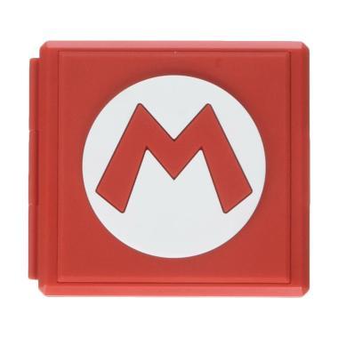 Nintendo Switch Mario Premium Tempat Kaset Game Card - Red