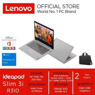 harga LENOVO IdeaPad SLIM 3i Core i3-1115G4 8GB 512GB SSD WINDOWS 10 OHS 14