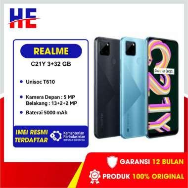 harga Realme C21Y Smartphone 3/32GB Hitam Blibli.com