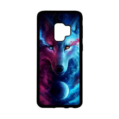 Bunnycase Wolf Galaxy L0654 Custom Hardcase Casing for Samsung Galaxy S9