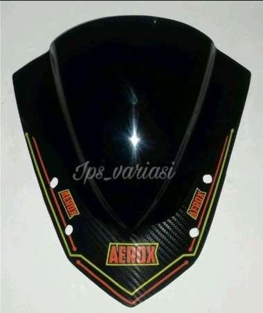 harga Pisor aerok hitam dop Windshield visor aerox aksesoris motor yamaha Aerox 155 Blibli.com