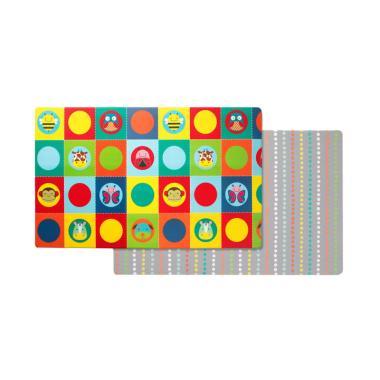 Skip Hop Sh243101 Zoo Doubleplay Reversible Playmat