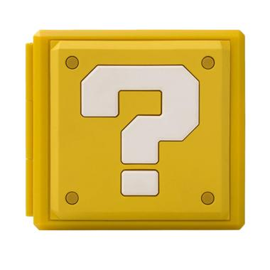Nintendo Switch Premium Game Card Case - Mario Question Block Kuning