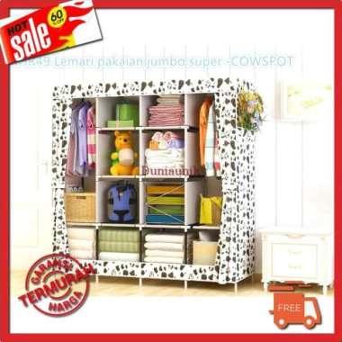 harga Rak Baju Lemari Pakaian Jumbo Perabotan Rumah Ukuran 170x168x40Cm Blibli.com