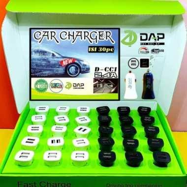Jual Car Charger DAP D-CC1 2.4A Eceran Berkualitas