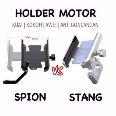 harga PHONE HOLDER HP Motor Handphone Spion Stang Sepeda Blibli.com