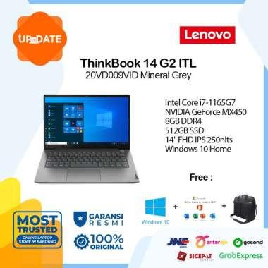 harga Lenovo ThinkBook 14 G2 ITL - 9VID - Laptop - [Intel Core i7-1165G7 / 8GB DDR4 / 512GB SSD / 14