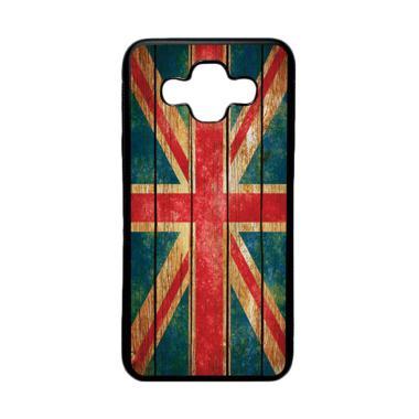 harga HEAVENCASE Motif Bendera Inggris 08 Softcase Casing for Samsung Galaxy J7 DUO - Hitam Blibli.com