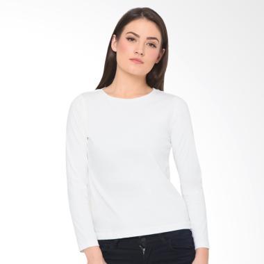 Daftar Produk Baju Putih Panjang Wanita Heart And Feel Rating ... 1436109098