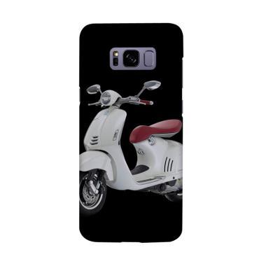 harga Indocustomcase Scuter Vespa New Cover Casing for Samsung Galaxy S8 Plus Blibli.com
