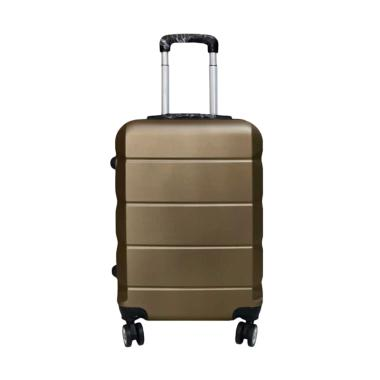 Polo Expley E01 Fiber Travel Bag Koper - Coffee Brown [20 inch]