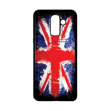 harga HEAVENCASE Motif Bendera Inggris 13 Casing for Samsung Galaxy J8 - Hitam Blibli.com