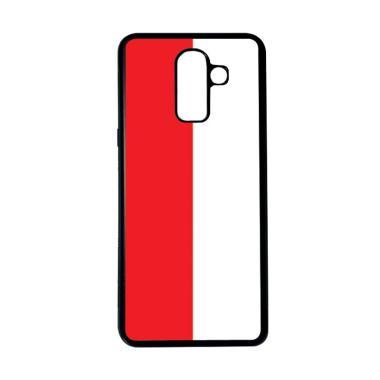 harga HEAVENCASE Motif Bendera Indonesia 21 Softcase Casing for Samsung Galaxy J8 - Hitam Blibli.com