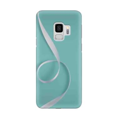 harga Indocustomcase Blue Tosca White Tape Cover Casing for Samsung Galaxy S9 Blibli.com