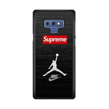 harga Acc Hp Jordan Supreme Sneakers W5099 Custome Casing for Samsung Galaxy Note9 Blibli.com