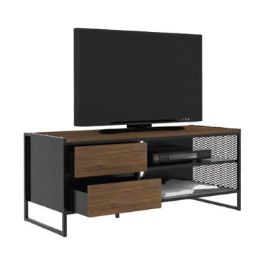 harga Creova Laci Brownie Meja TV - Dark Brown Blibli.com