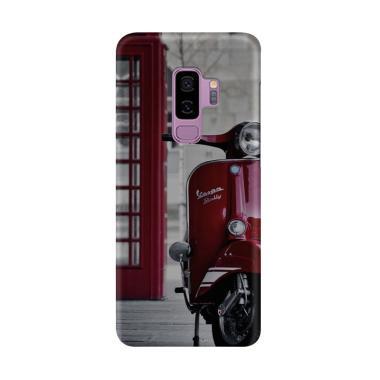 harga Indocustomcase Red UK Vespa Cover Casing for Samsung Galaxy S9 Plus Blibli.com